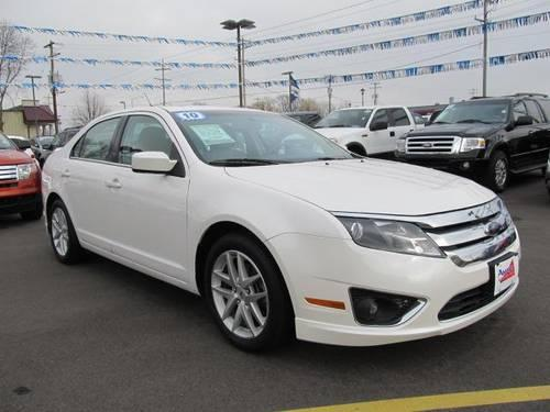 2010 ford fusion 4d sedan sel for sale in mukwonago wisconsin classified. Black Bedroom Furniture Sets. Home Design Ideas