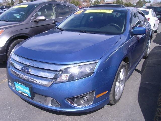 2010 Ford Fusion 4dr Front-wheel Drive Sedan Sport