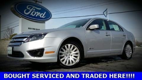 2010 ford fusion hybrid 4 door sedan for sale in kenosha wisconsin. Cars Review. Best American Auto & Cars Review