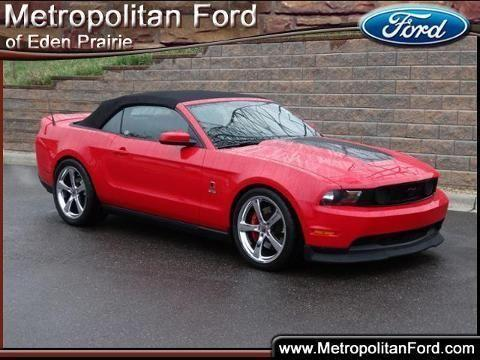2010 ford mustang 2 door convertible for sale in eden prairie minnesota classified. Black Bedroom Furniture Sets. Home Design Ideas