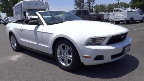 2010 Ford Mustang 2 Door Convertible For Sale In Fresno