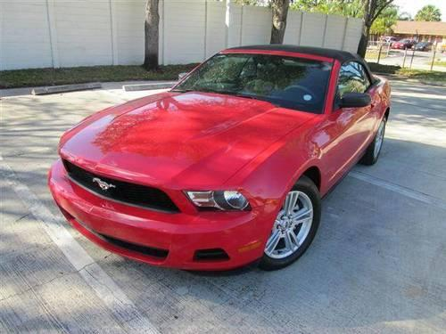 2010 ford mustang convertible 2d for sale in west palm beach florida classified. Black Bedroom Furniture Sets. Home Design Ideas