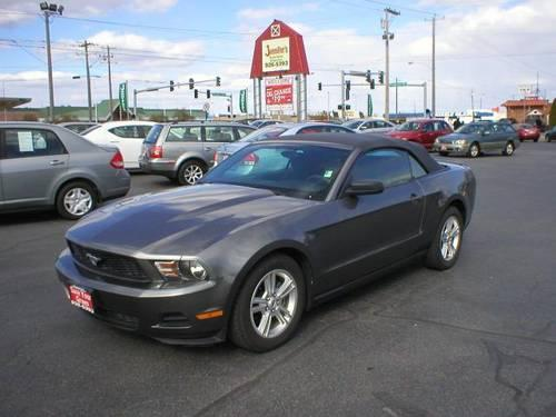 2010 Ford Mustang Convertible For Sale In Spokane