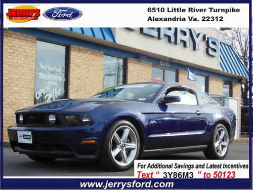 2010 Ford Mustang Coupe GT COUPE