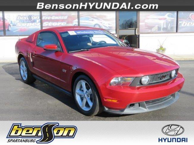 2010 Ford Mustang Gt Premium For In Spartanburg South Carolina