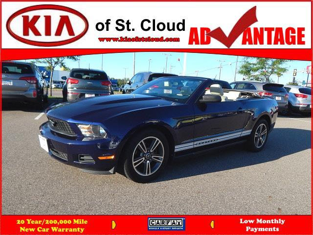 2010 ford mustang v6 v6 2dr convertible for sale in saint cloud minnesota classified. Black Bedroom Furniture Sets. Home Design Ideas