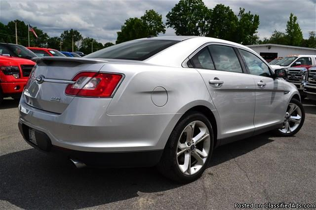 2010 Ford Taurus Sho Ecoboost 1 Owner Clean Car Fax