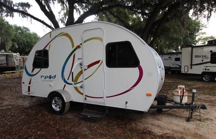 2010 forest river r pod rp 171 travel trailer rv lightweight for sale in ocala florida. Black Bedroom Furniture Sets. Home Design Ideas