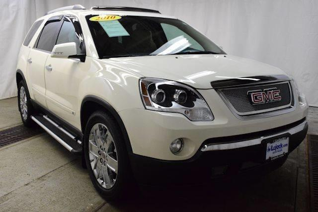 2010 gmc acadia slt 2 awd slt 2 4dr suv for sale in davenport iowa classified. Black Bedroom Furniture Sets. Home Design Ideas