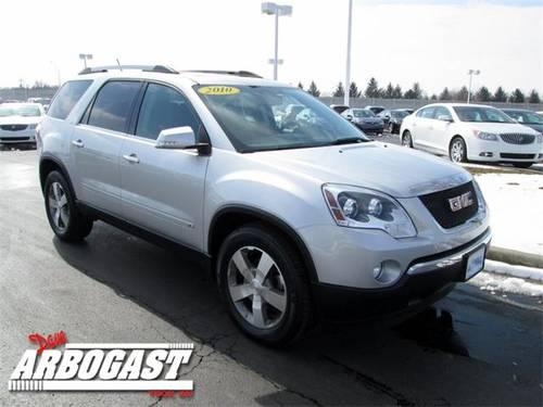 2010 gmc acadia suv slt 1 for sale in troy ohio classified. Black Bedroom Furniture Sets. Home Design Ideas