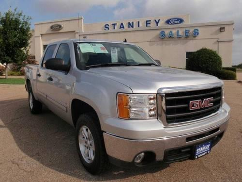 2010 gmc sierra 1500 2wd crew cab 143 5 sle for sale in mc gregor texas classified. Black Bedroom Furniture Sets. Home Design Ideas