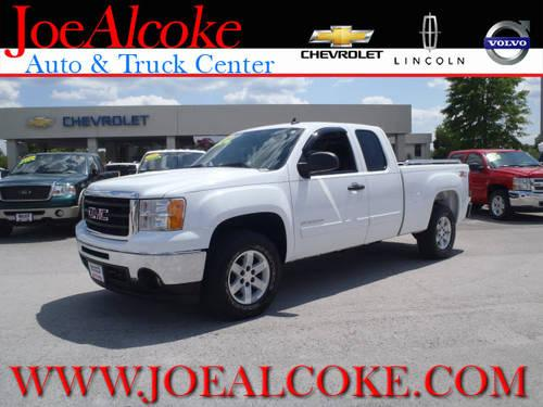 2010 gmc sierra 1500 extended cab pickup 4x4 sle for sale in new bern north carolina classified. Black Bedroom Furniture Sets. Home Design Ideas