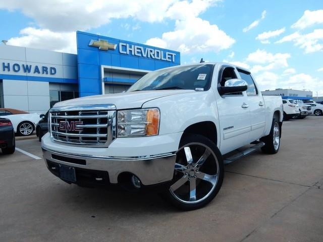 2010 gmc sierra 1500 sle 4x2 sle 4dr crew cab 5 8 ft sb for sale in oklahoma city oklahoma. Black Bedroom Furniture Sets. Home Design Ideas