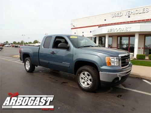 2010 gmc sierra 1500 truck extended cab sle for sale in troy ohio classified. Black Bedroom Furniture Sets. Home Design Ideas