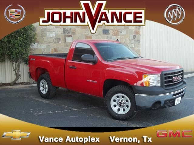 2010 gmc sierra 1500 work truck for sale in vernon texas classified. Black Bedroom Furniture Sets. Home Design Ideas