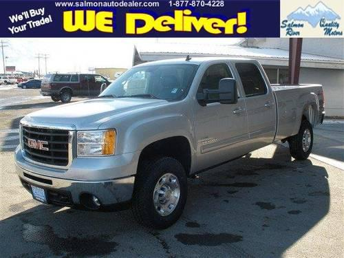 2010 Gmc Sierra 3500hd Crew Cab Pickup Srw Slt For Sale In