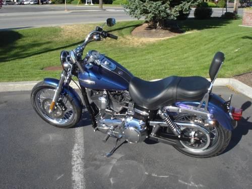 Harley Davidson 2010 Dyna Super Glide Custom 134 Miles: 2010 Harley Davidson Dyna Super Glide Custom Low Miles For