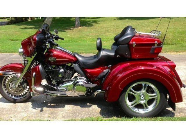 2010 Harley Davidson Electra Glide Ultra Classic Trike For