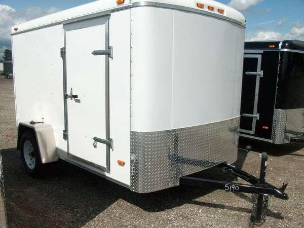 2010 Haul-It 6X10 Enclosed Trailer