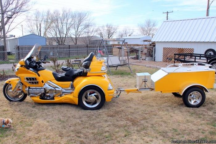 2010 Honda 1800cc Goldwing Trike With Matching Trailer