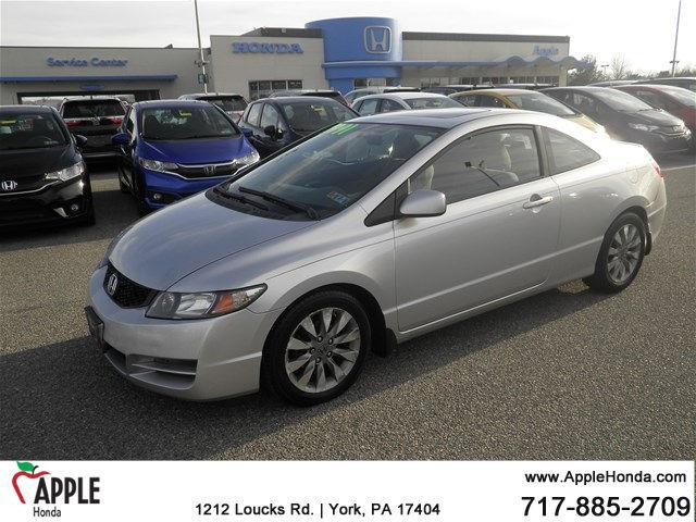 2010 Honda Civic EX EX 2dr Coupe 5A