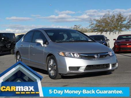 2010 Honda Civic EX EX 4dr Sedan 5A