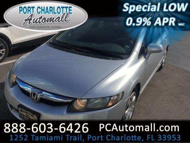 2010 honda civic lx lx 4dr sedan 5a for sale in port for Honda port charlotte fl