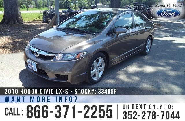 2010 Honda Civic LX-S - 23K Miles - On-Site Financing!