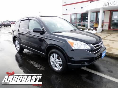 2010 honda cr v suv ex l for sale in troy ohio classified for Honda large suv