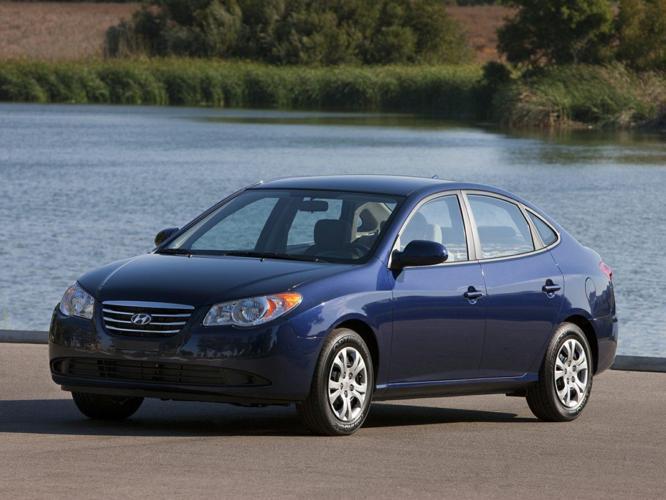 2010 Hyundai Elantra GLS GLS 4dr Sedan