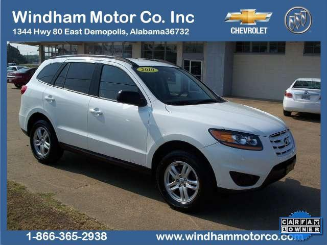 2010 hyundai santa fe gls for sale in demopolis alabama classified. Black Bedroom Furniture Sets. Home Design Ideas