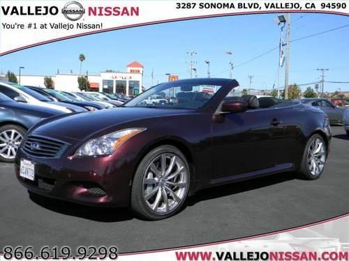 2010 infiniti g g37 convertible 2d for sale in vallejo california classified. Black Bedroom Furniture Sets. Home Design Ideas