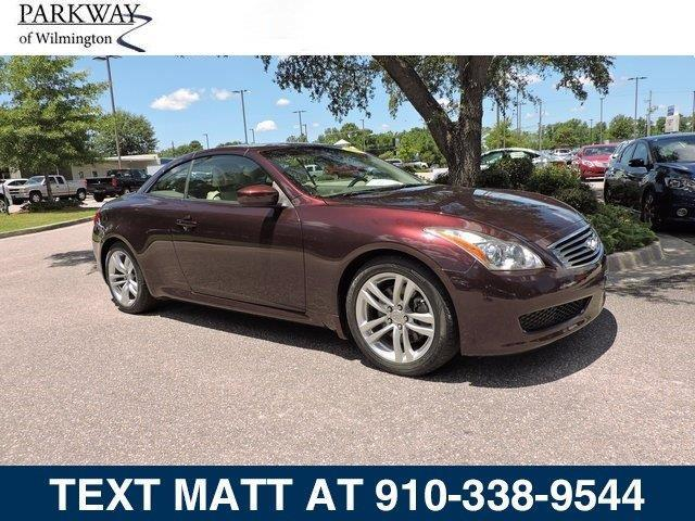 2010 infiniti g37 convertible base 2dr convertible for sale in wilmington north carolina. Black Bedroom Furniture Sets. Home Design Ideas