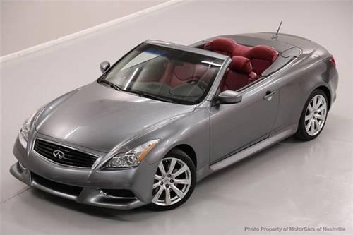 2010 infiniti g37 convertible convertible 2dr anniversary edition for sale in mount juliet. Black Bedroom Furniture Sets. Home Design Ideas