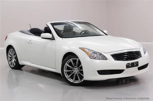 2010 infiniti g37 convertible convertible 2dr base convertible for sale in mount juliet. Black Bedroom Furniture Sets. Home Design Ideas