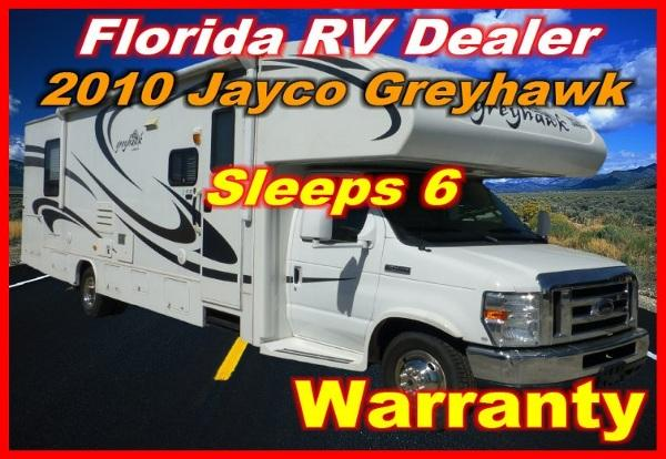 2010 jayco greyhawk 31 ss for sale in port charlotte florida classified. Black Bedroom Furniture Sets. Home Design Ideas