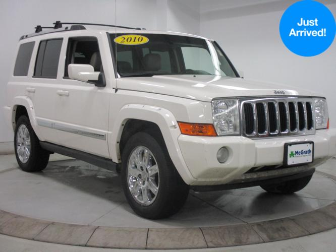 2010 jeep commander limited 4x4 limited 4dr suv for sale in dubuque iowa classified. Black Bedroom Furniture Sets. Home Design Ideas