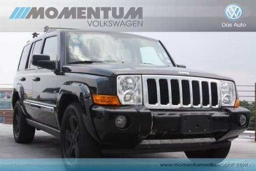 2010 jeep commander suv limited for sale in houston texas. Black Bedroom Furniture Sets. Home Design Ideas