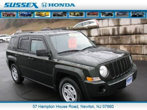2010 jeep patriot sport suv for sale in fredon new jersey classified. Black Bedroom Furniture Sets. Home Design Ideas