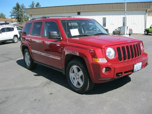 2010 jeep patriot suv sport for sale in spokane. Black Bedroom Furniture Sets. Home Design Ideas