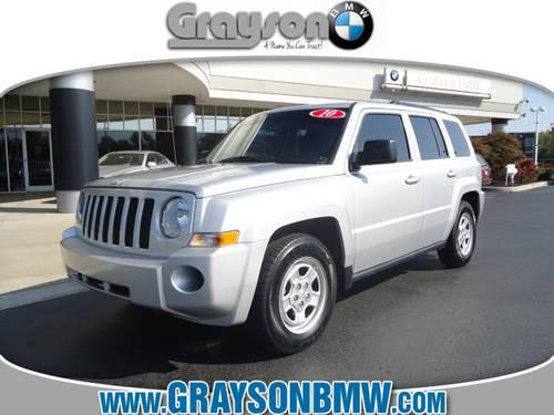 2010 jeep patriot suv sport for sale in knoxville. Black Bedroom Furniture Sets. Home Design Ideas