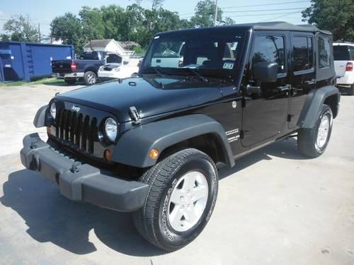 2010 jeep wrangler 4d sport utility unlimited for sale in orange texas classified. Black Bedroom Furniture Sets. Home Design Ideas