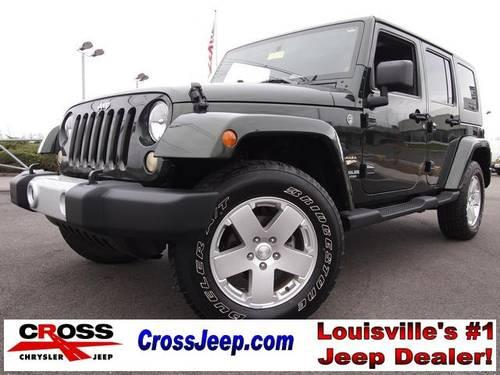 2010 Jeep Wrangler 4D Sport Utility Unlimited Sahara