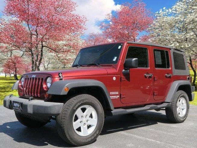 2010 Jeep Wrangler 4WD Unlimited Sport