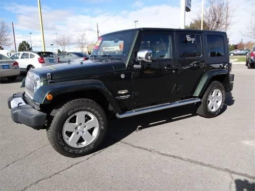 2010 jeep wrangler unlimited 4dr 4x4 sahara sahara for sale in hollister idaho classified. Black Bedroom Furniture Sets. Home Design Ideas
