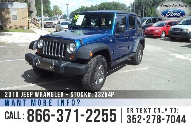 2010 Jeep Wrangler Unlimited - 69K Miles - On-site