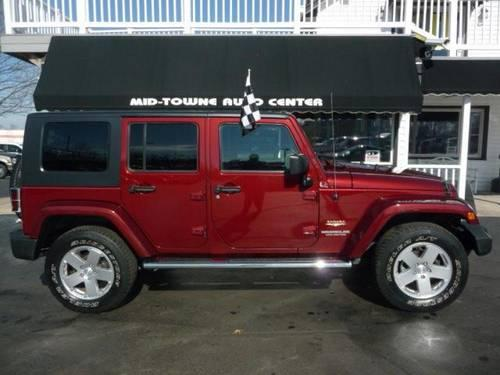 2010 jeep wrangler unlimited for sale in blue ball ohio classified. Black Bedroom Furniture Sets. Home Design Ideas