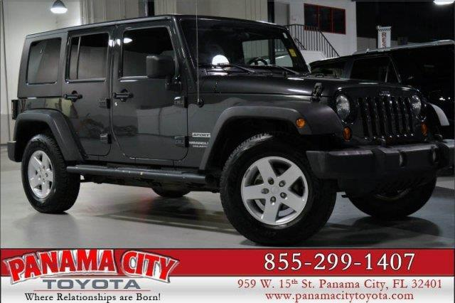 2010 jeep wrangler unlimited sport 4x4 sport 4dr suv for sale in panama city florida classified. Black Bedroom Furniture Sets. Home Design Ideas