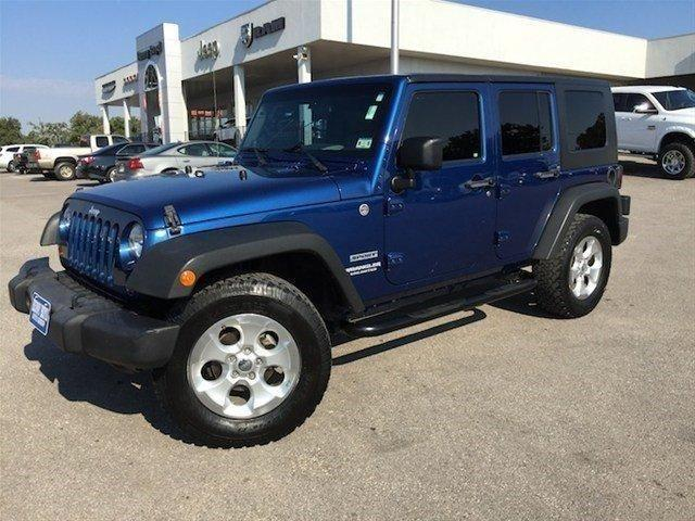 2010 jeep wrangler unlimited sport for sale in dilworth texas. Cars Review. Best American Auto & Cars Review