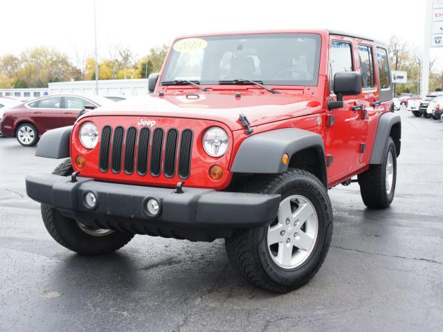 2010 jeep wrangler unlimited sport muncie in for sale in muncie indiana classified. Black Bedroom Furniture Sets. Home Design Ideas
